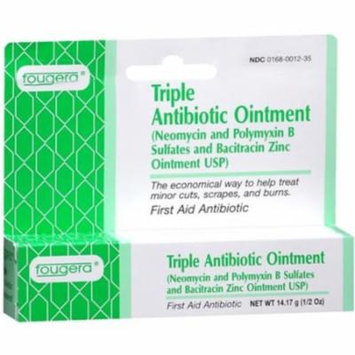 Fougera, Triple Antibiotic Ointment - .5oz