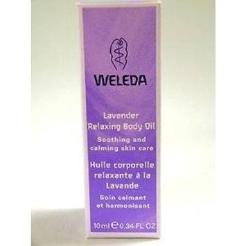 WELEDA Lavender Body Oil Trial Size 0.34 OZ