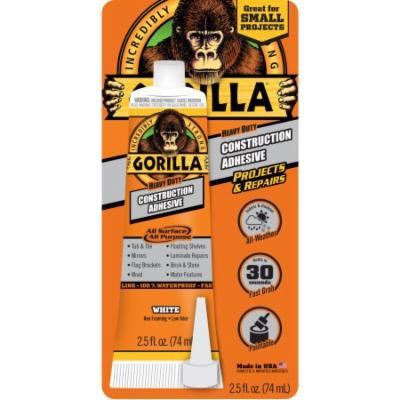 2.5 oz Gorilla Heavy Duty Construction Adhesive