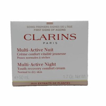 Multi-Active Night Youth Recovery Comfort Cream - Normal to Dry Skin Clarins 1.7 oz Cream Unisex