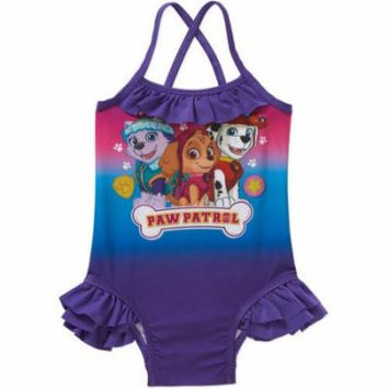 Paw Patrol Toddler Girl Swim Suit
