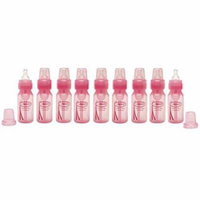 Dr. Browns Baby Bottle 4 Ounce, 9 Count, Pink