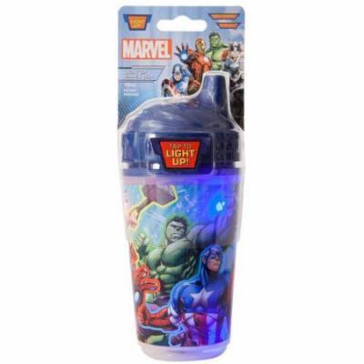 Avengers Blue Light Up Toddler Sip Cup, BPA-Free