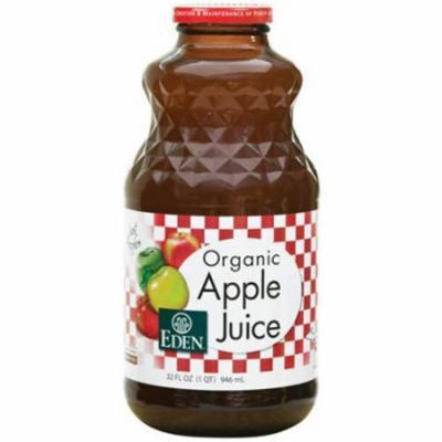 Eden Organic Apple Juice, 32 fl. oz, (Pack of 2)