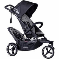 phil Dot Inline Stroller with Second Seat