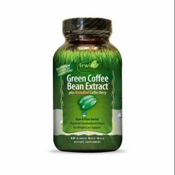 Green Coffee Bean Extract by Irwin Naturals - 60 Softgels