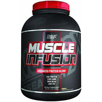 Nutrex Research Muscle Infusion Powder, Vanilla, 5 Pound