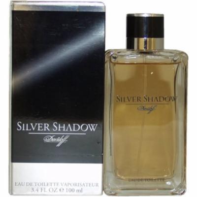 Zino Davidoff Silver Shadow for Men Eau de Toilette Spray, 3.4 oz