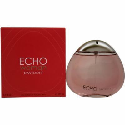 Zino Davidoff Echo Woman for Women Eau de Parfum Spray, 3.4 oz