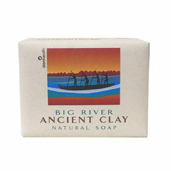 Zion Health Clay Bar Soap Big River 10.5 oz