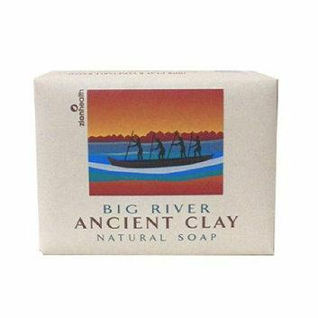 Zion Health Clay Bar Soap Big River 10.5 oz