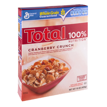 General Mills Total Cranberry Crunch Cereal
