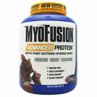 Gaspari Nutrition MyoFusion Advanced Protein Chocolate - 4 LBS