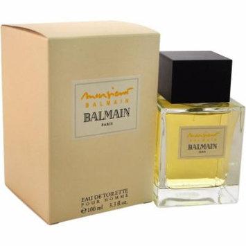 Pierre Balmain Monsieur Balmain Eau de Toilette Spray for Men, 3.4 oz