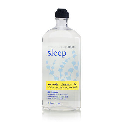 Bath & Body Works Aromatherapy Sleep Lavender Chamomile Foam Bath