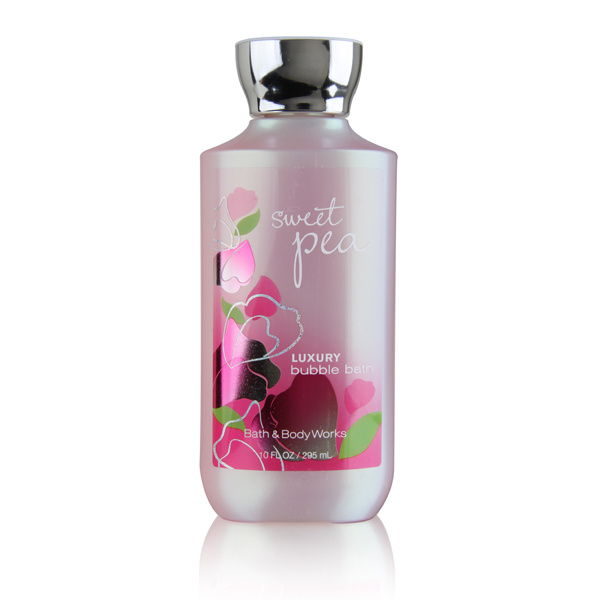 Bath & Body Works Sweet Pea Bubble Bath