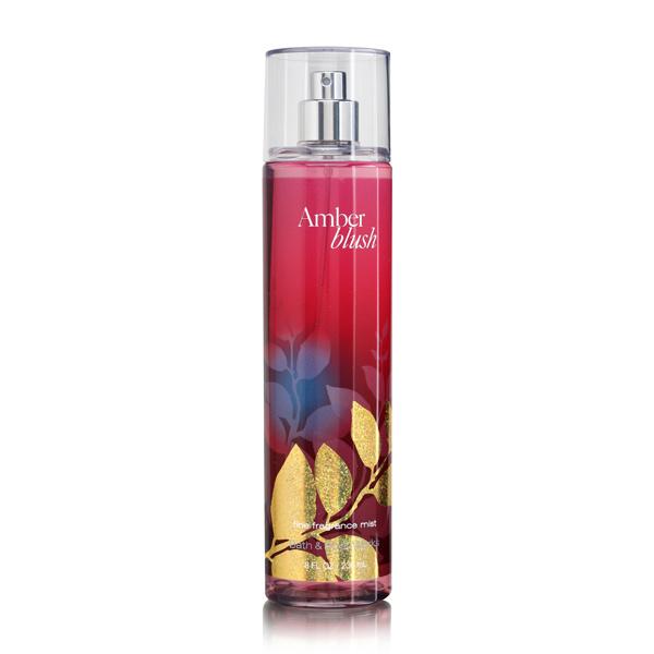 Signature Collection Bath Body Works Amber Blush 8.0 oz Fine Fragrance Mist