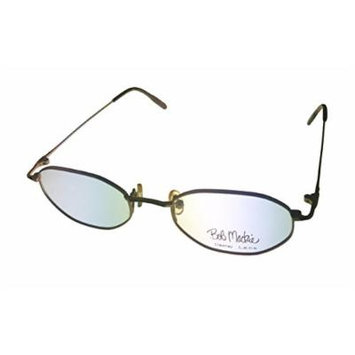 Bob Mackie Uni Sex Gold Tortoise Metal Hex Eyewear Frame BM 780
