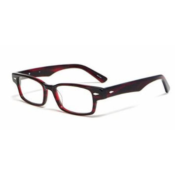 Calabria Viv Designer Reading Glasses 7002 in Red Tortoise :: Demo Lens