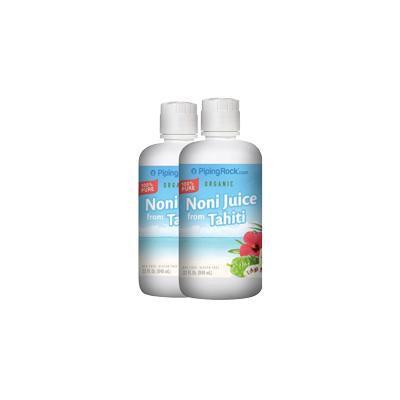 Noni Juice 100% Pure 2 Bottles x 32 fl oz (946 mL)