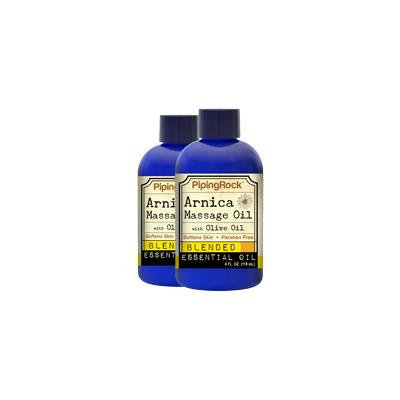 Arnica Massage Oil 2 Bottles x 4 fl oz (118 mL)
