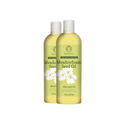 Meadowfoam Seed Oil 2 Bottles x 16 fl oz (473 mL)