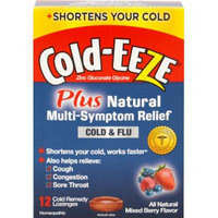 Cold-Eeze Cold-EEZE Plus Natural Symptom Relief Cold & Flu-12 Lozenges