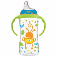 NUK Jungle Animals Silicone Learner Cup, BPA-Free, 10 oz