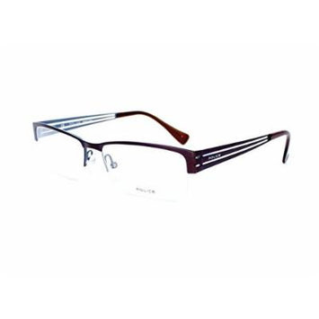 Optical frame Police INCISIVE 1 Metal Brown (VPL137 0488)