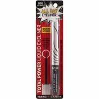 Hard Candy Total Power Liquid All Day Eyeliner, 1102 Jet Black, 0.07 oz