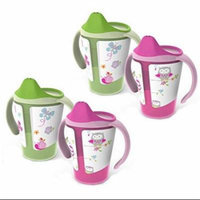 BPA-Free Grow with Me 6 oz. Training Cup, 4 Count, Girl