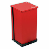 Detecto Receptacle Baked Epoxy in Red