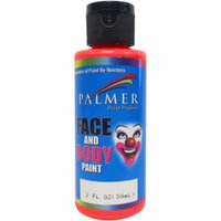 Face & Body Paint 2Oz-Red