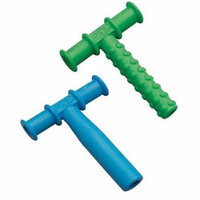 Chewy Tube, 2 Count, Blue/Green