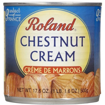 Roland Creme De Marrons Chestnuts, 17.6 Ounce Can