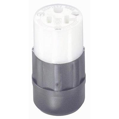 Leviton 061-5369-C Industrial Grade Straight Blade Connector
