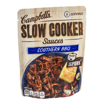 Campbell's Slow Cooker Sauces Southern BBQ