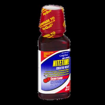 CareOne Multi-Symptom Nitetime Cold/Flu Relief Cherry