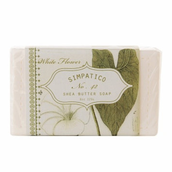 Simpatico Fine Bar Soap, No. 42 Whiteflower, 8 oz