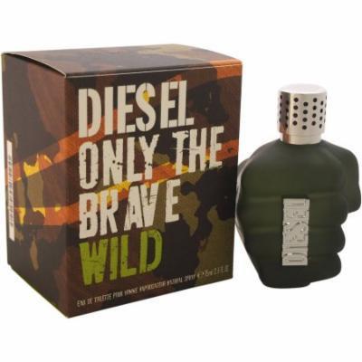 Diesel Only The Brave Wild for Men Eau de Toilette, 2.5 oz