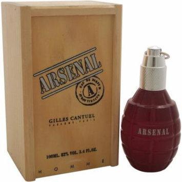 Gilles Cantuel Arsenal Red for Men Eau de Parfum, 3.4 oz