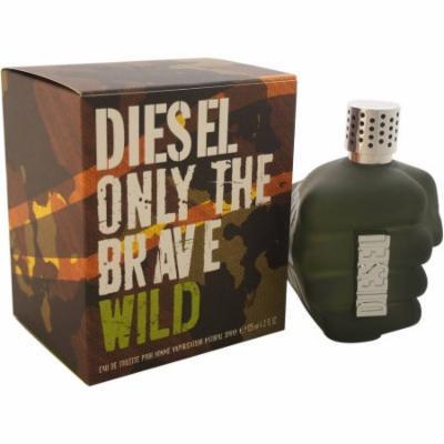 Diesel Only The Brave Wild for Men Eau de Toilette, 4.2 oz