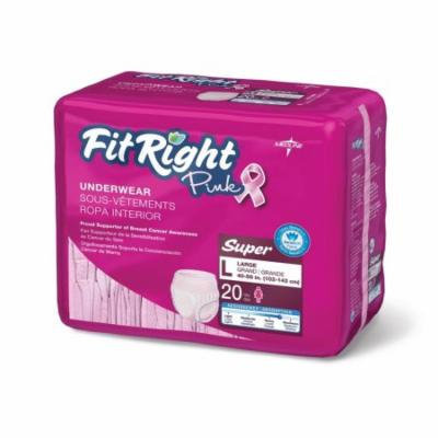 FitRight Pink Protective Underwear,Large FITPINKLGZ