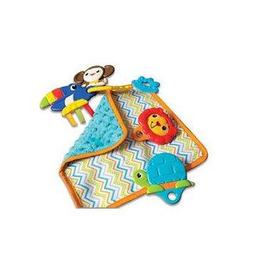 Kiddopotamus Shake, Rattle, and Teethe Teether Toy