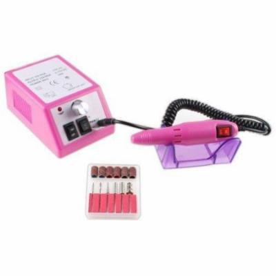 AGPtek Nails Art Professional Electric Manicure Pedicure File Nail Drill Kit Set(Pink)