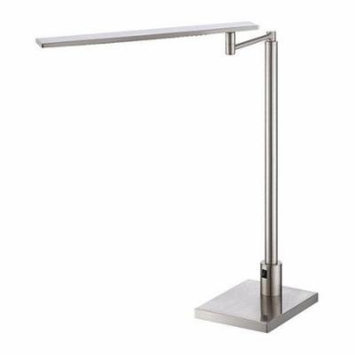 Lite Source LS-22252 Table Lamps Monico Lamps Swing Arm Lamps ;Polished Steel