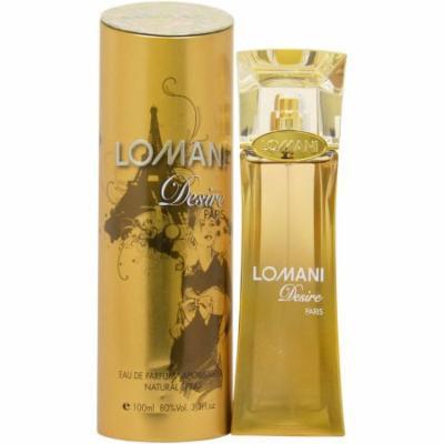 Lomani Desire Eau de Toilette Spray for Women, 3.3 fl oz