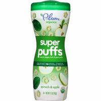 Plum Organics Super Puffs Spinach & Apple Organic Veggie & Fruit Grain Puffs, 1.5 oz, (Pack of 8)