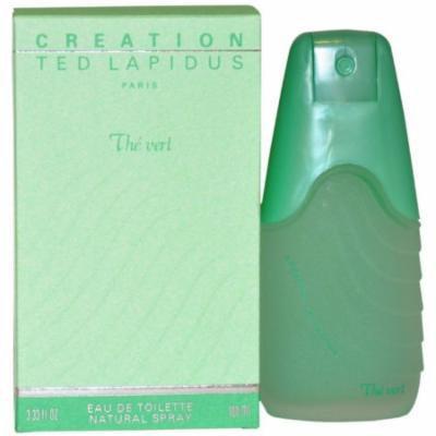 Ted Lapidus Creation The Vert for Women Eau de Toilette Spray, 3.33 oz