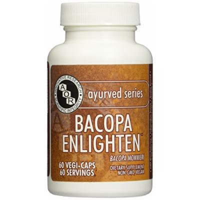 Advanced Orthomolecular Research AOR Bacopa Enlighten Capsules, 60 Count